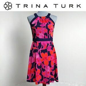 Trina Turk Floral Dress 🌺